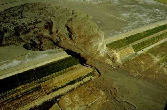 Aznalcóllar, Spain tailings dam rupture, April 25, 1998